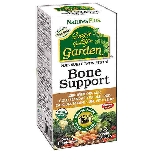 Nature's Plus - Source of Life Garden - Bone Support 120 Capsules