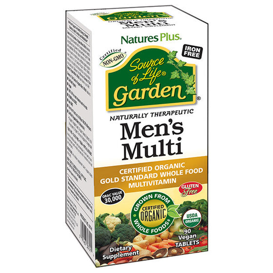 Nature's Plus - Source of Garden Men's Multi 90 Tablets