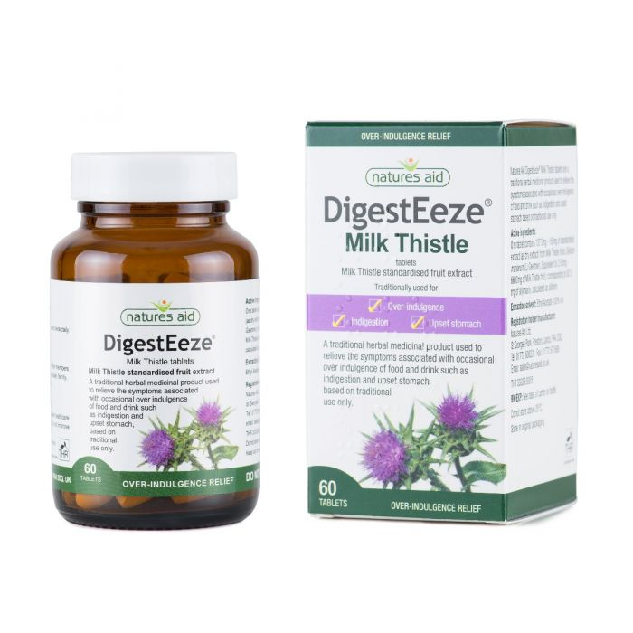 DigestEeze® 150mg (Milk Thistle)- 60 tablets