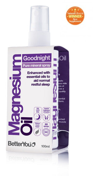 BetterYou Magnesium Oil Goodnight Spray-100ml