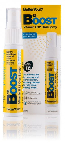 BetterYou Boost Vitamin B12 Oral Spray - 25ml