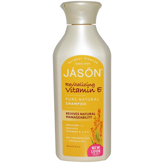 Jason Revitalizing Vitamin E Shampoo 454g