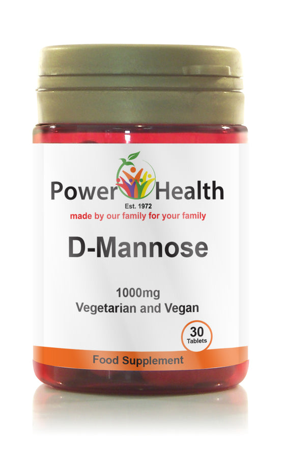 Power Health D-Mannose - 30 Tablets