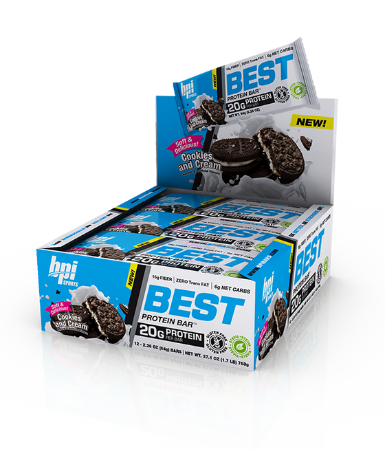 BPI Sports Best Protein Bar Box of 12