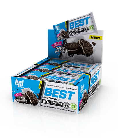 BPI Sports Best Protein Bar Box of 12 (PRE-ORDER)