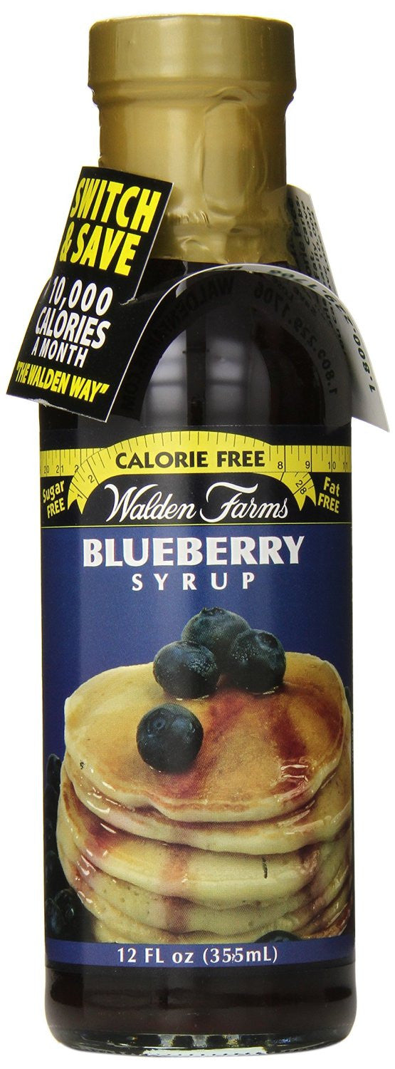 Walden Farms Blueberry Syrup - 355ml