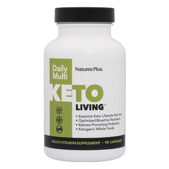 Nature's Plus, KetoLiving, Daily Multi - 90 Capsules