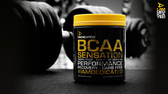Dedicated Nutrition BCAA - 30 servings