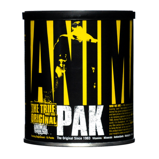 Animal Pak Dietary Supplement 22 servings