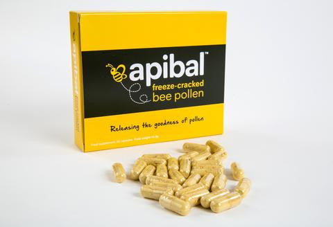 Apibal Freeze-Cracked Bee pollen 60 Capsules