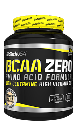 BioTech BCAA Zero amino acid powder - 360g (40 servings)
