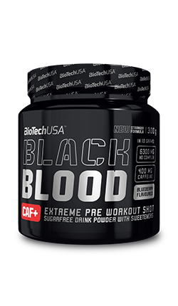 BioTech USA Black Blood Caf+ 300g (30 Servings)