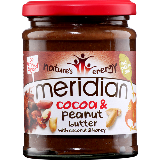 Meridian Cocoa & Peanut Butter - 280g