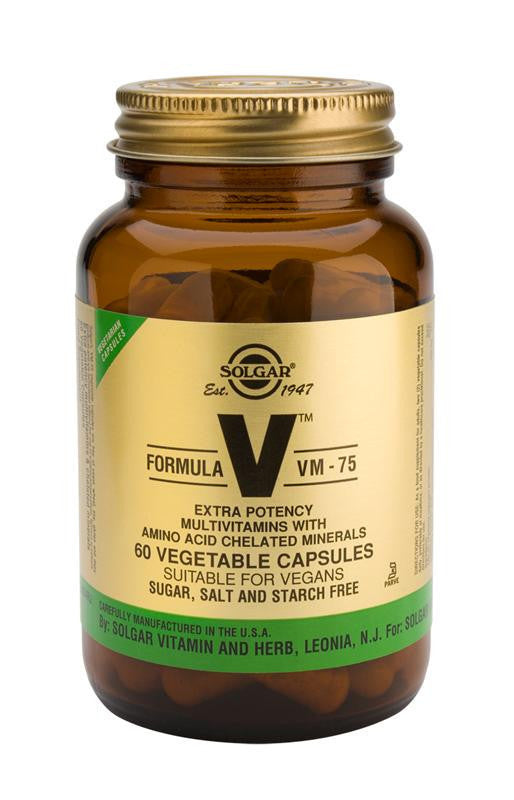 Solgar Formula VM-75(TM) 60 Vegetable Capsules