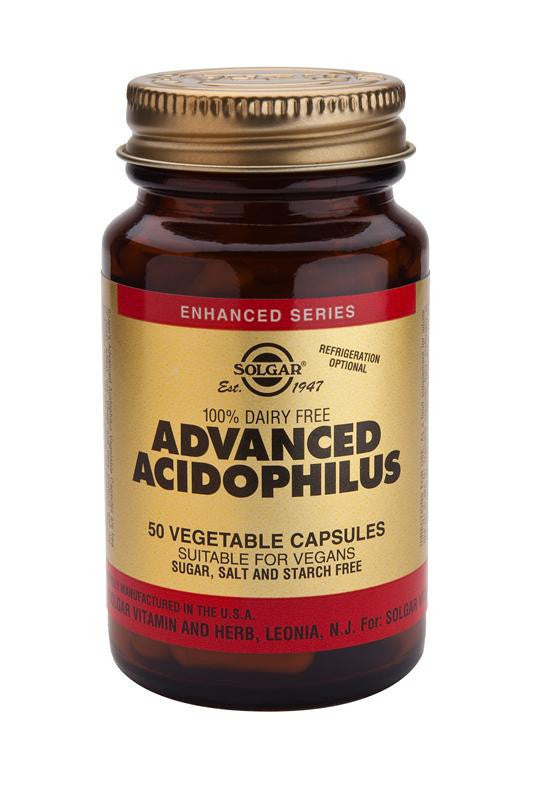 Solgar Advanced Acidophilus (100% Dairy Free) Vegetable Capsules
