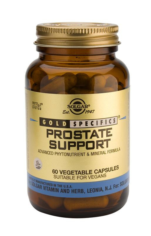 Solgar Gold Specifics(TM) Prostate Support 60 Vegetable Capsules