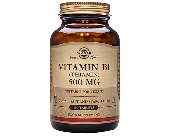 Solgar Vitamin B-1 500mg