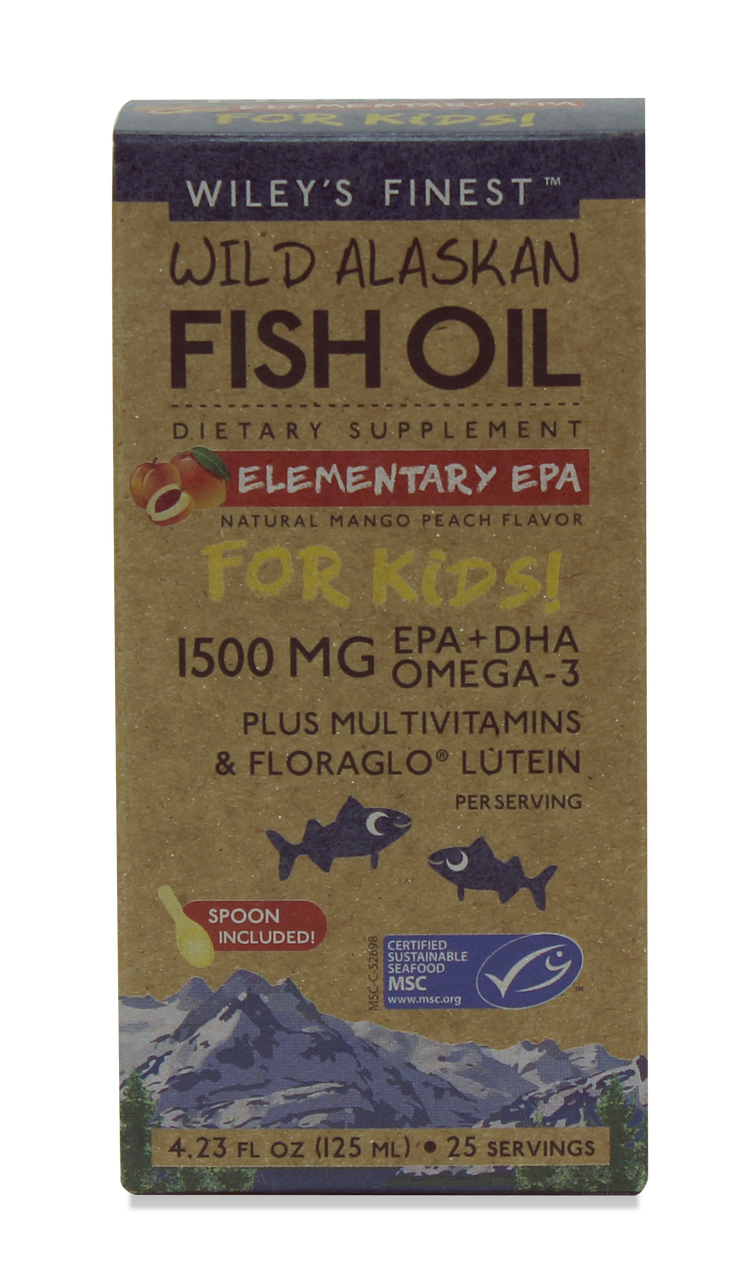 Wiley's Finest Elementary EPA for Kids - 25 SERVINGS