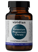 Potassium Magnesium Citrate Vegetable Capsules