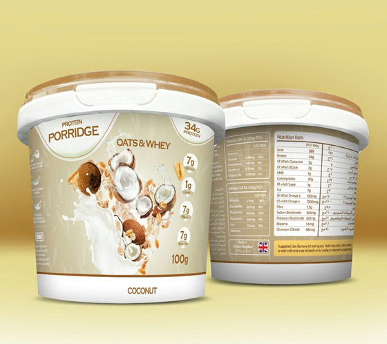 Feel Free Nutrition Protein Porridge 100g Pack of 8