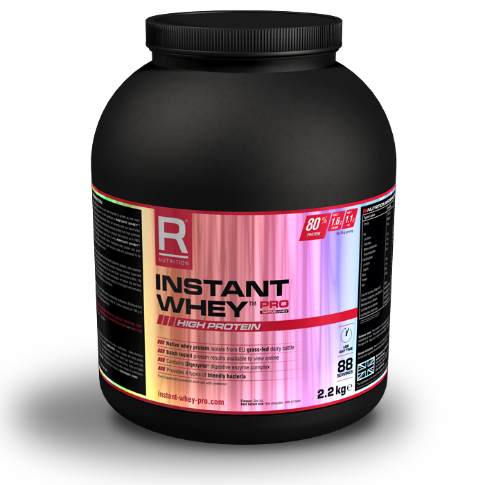 Reflex Instant Whey PRO - Inc. Native Whey 4.4kg