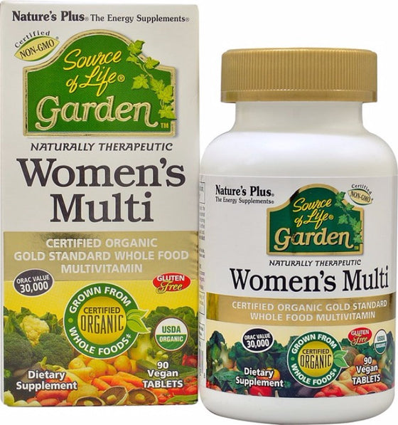 Nature's Plus - Source of Life Garden- Women's Multi - 90 Vegan Capsules