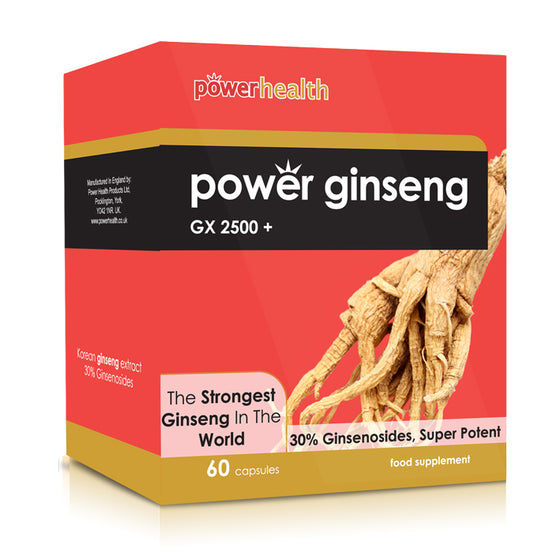 Power Health Power Ginseng GX2500+   (60 Capsules)