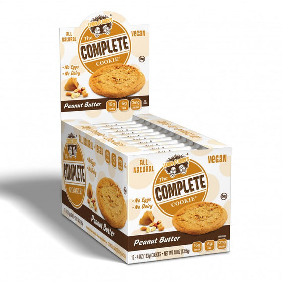 Lenny & Larry's Complete Cookie Peanut Butter x12