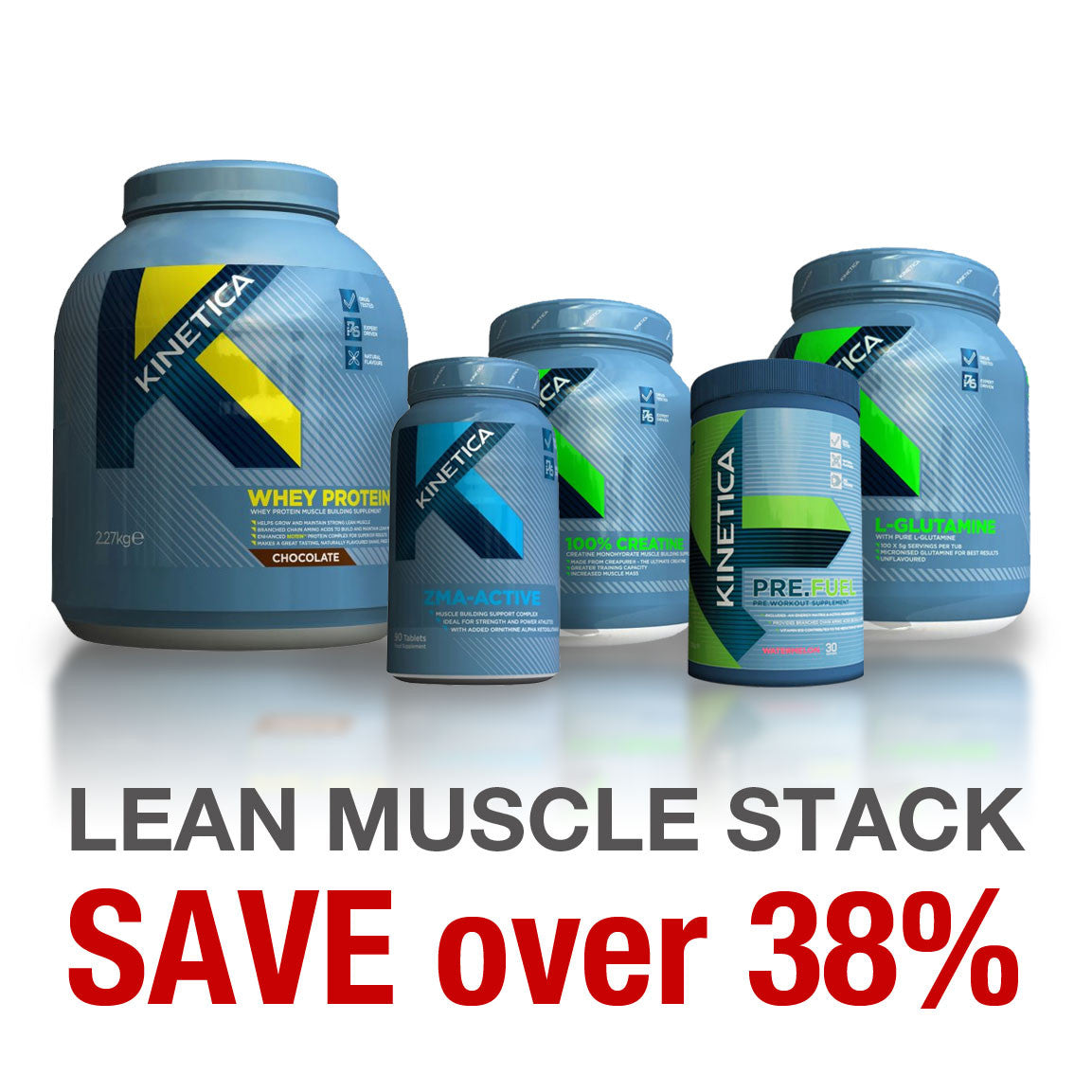 Kinetica Lean Muscle Stack