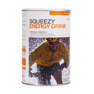 Squeezy Nutrition Energy Drink - Orange