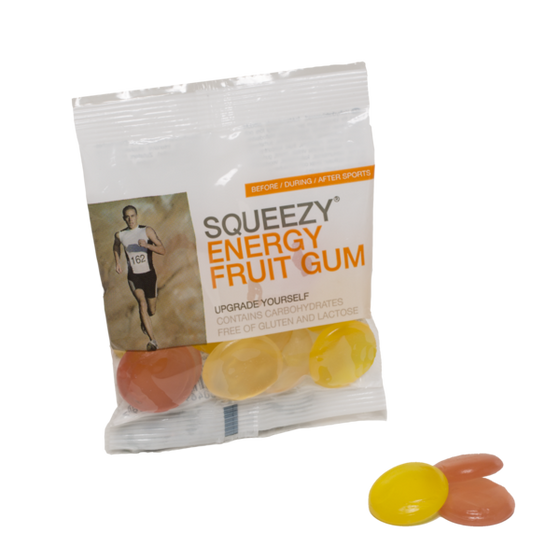 SQUEEZY ENERGY FRUIT GUM - 50g Bag