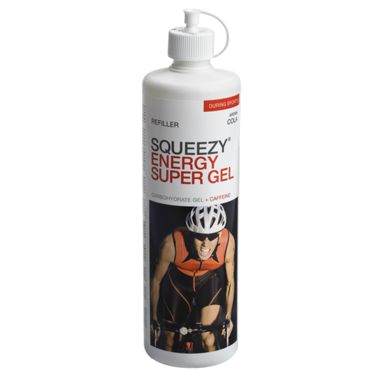 SQUEEZY ENERGY SUPER GEL REFILL BOTTLE - 500ml Cola