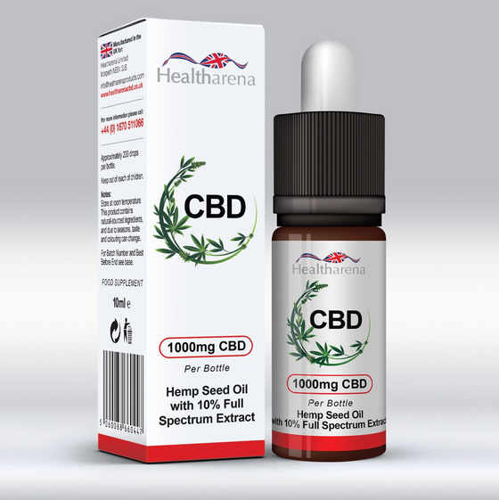 Healtharena CBD 1000mg 10ml