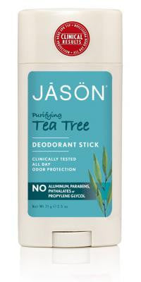 Jason Purifying Tea Tree Deodorant Stick