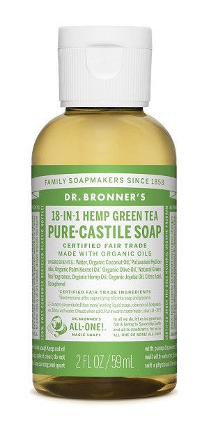 Green Tea Castile Liquid Soap