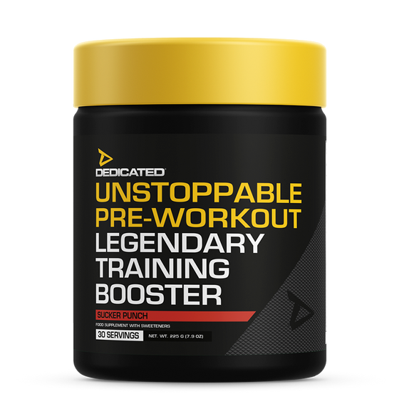 Dedicated Nutrition Unstoppable Pre-Workout 30 servings