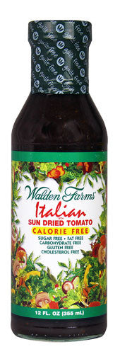 Walden Farms Italian Sun Dried Tomato Salad Dressing - 355ml