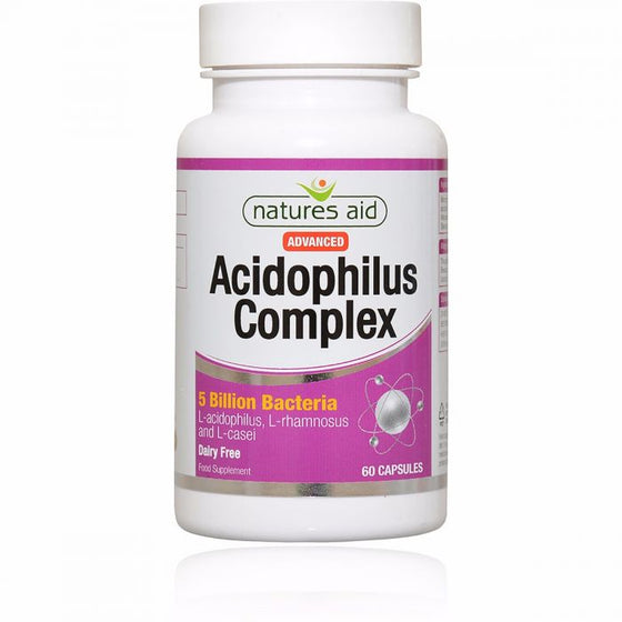 Acidophilus Complex 5 Billion- 60 Vegetarian Capsules