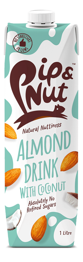 Pip&Nut Almond Drink with Coconut - 1Litre