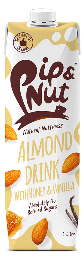 Pip&Nut Almond Drink With Honey and Vanilla - 1 Litre