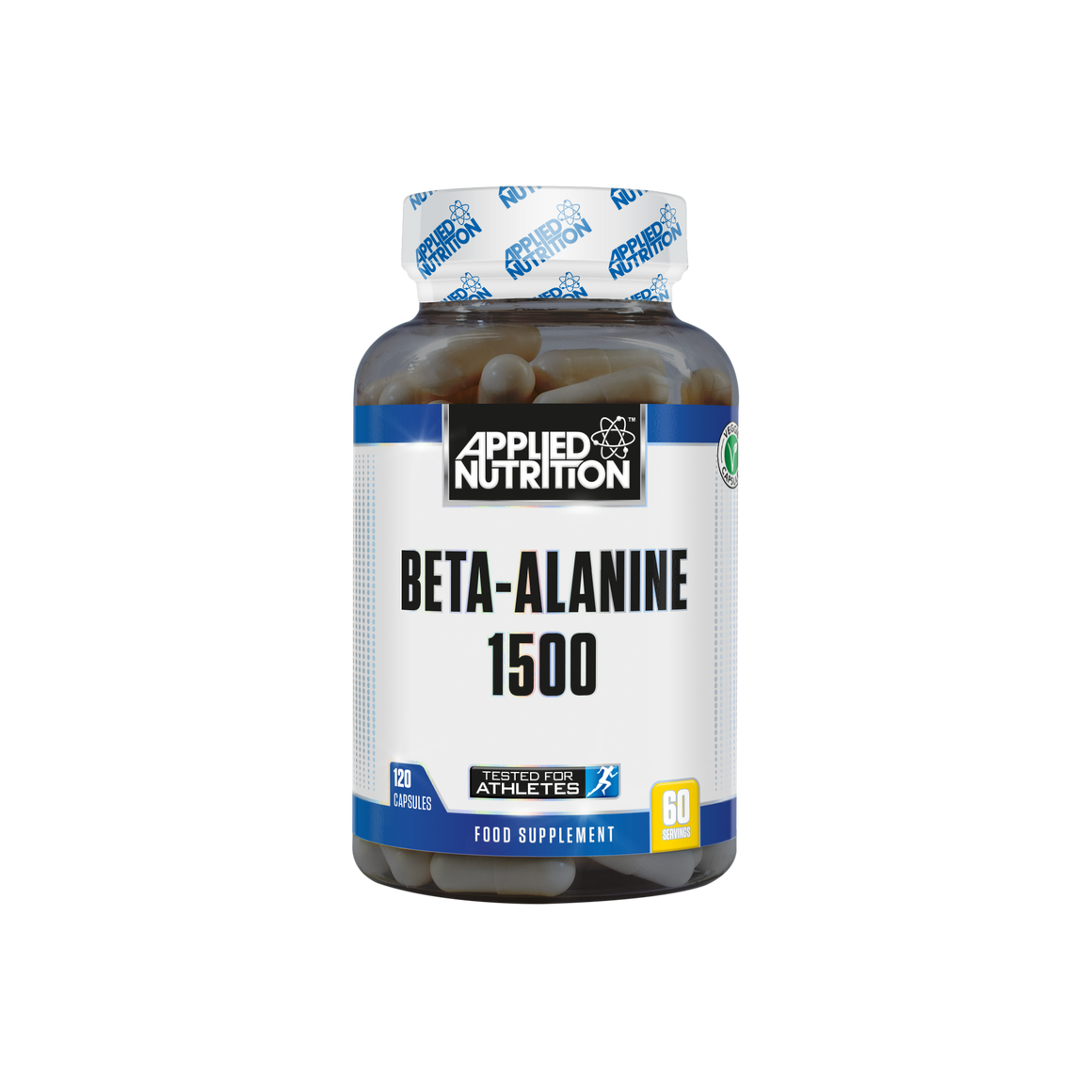 Applied Nutrition Beta-Alanine 1500mg -120 Capsules