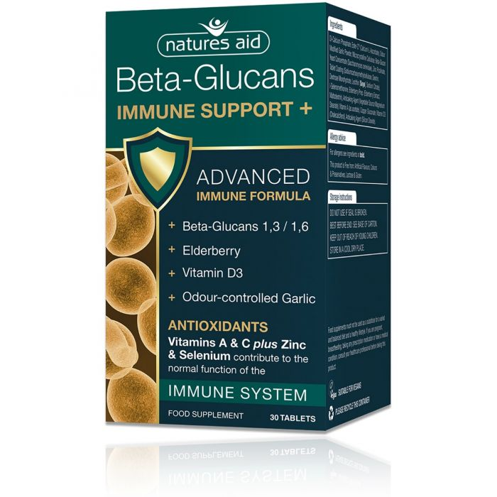 Natures Aid Beta-Glucans Immune Support +