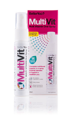 BetterYou MultiVit Daily Multi Vitamin Oral Spray - 25ml