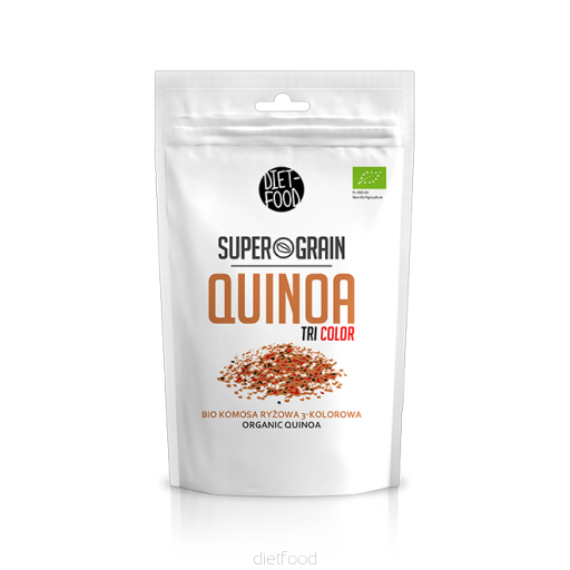 Diet Food Bio Super Grain Quinoa Tricolour 250g