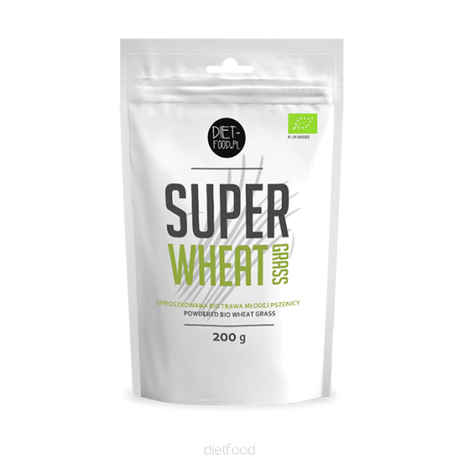 Diet Food Super Wheat Grass Powder 200g