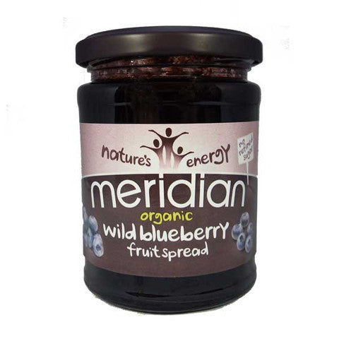 Meridian Organic Wild Blueberry Fruit Spread - 284g