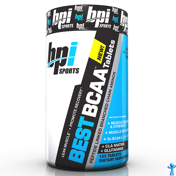 BPI Best BCAA Tablets 30 Servings