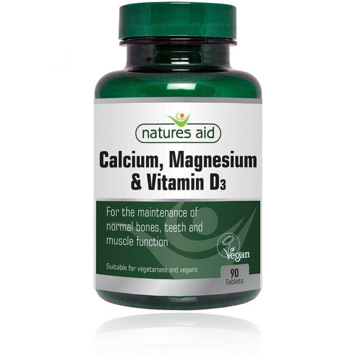 Calcium, Magnesium & Vitamin D3 - 90 tablets