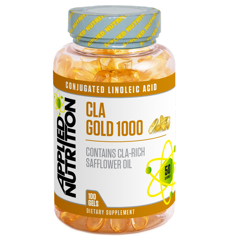 Applied Nutrition CLA Gold 1000 - 100 Gels