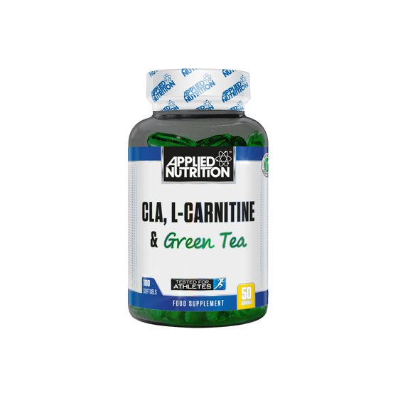 Applied Nutriton CLA, L-Carnitine & Green Tea - 100 Softgels